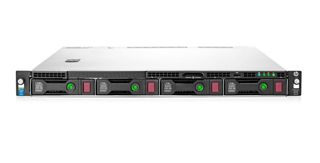 Dedicated server HP DL160 Gen9 4LFF, 1 x E5-2620v4, 2 x 16GB 2Rx4 PC4-24000P-R,  1 x  900W