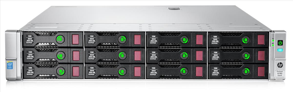 Dedicated server HP DL380 Gen9 15LFF, 2 x E5-2690v4, 4 x 16GB 2Rx4 PC4-2400T-R,  2 x  500W